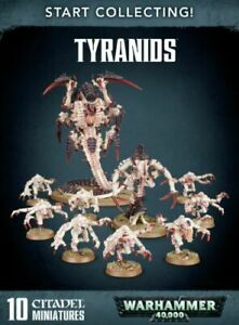 WARHAMMER 40K - START COLLECTING TYRANIDS - New in Box