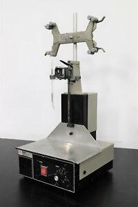 Fisher Magnetic Titrate Stirrer Model 385 Castaloy-R w/ Burette & Holder