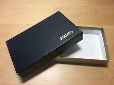 Vintage SEIKO Carton Paper Box - Caja de Cartón VINTAGE - 15,5 x 9,5 x 3,3 cm