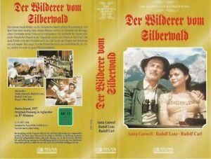 (VHS) Der Wilderer vom Silberwald - Rudolf Lenz, Anita Gutwell, Rudolf Carl