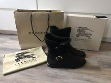 BURBERRY Garton Black Boots
