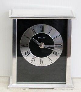 "BULOVA MANTEL CLOCK -B2266  ""BARON"""