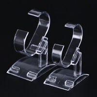 Clear plastic wrist watch display rack holder sale show case stanODFS