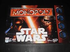 MONOPOLY STAR WARS 2015  EXCELLENT CONDITION