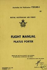 Pilatus PC-6 Porter STOL Manual 1970's archive rare detail HISTORIC COLLECTABLE