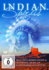 CD DVD Indian Spirits de Varios Artistas Juego de DVD+CD