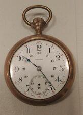 Vintage Regina pocket watchwith Banner Gold Filled case