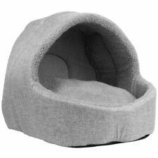 Dog Puppy Cat Kitten Pet Igloo Fleece Bed House Basket Warm Cosy Washable New