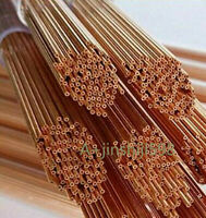 0.3-1.5X400mm 100pc Wire EDM Drill Electrode Single Hole Top Quality Copper Tube