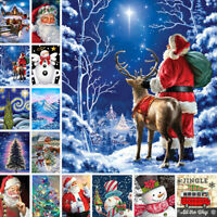 DIY 5D Diamond Painting Full Drill Tree Cross Stitch Embroidery Xmas Gifts Decor