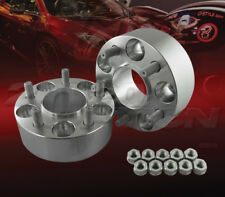 "2pc 50mm (2"") Thick 5x114.3 Hub Centric Wheel Adapters Spacers M12x1.5 60.1mm"