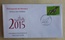 2015 MONACO INTERNATIONAL DOG SHOW  FDC FIRST DAY COVER