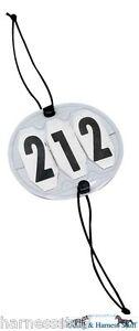Bridle Competition Number Holder 3 or 4 digit
