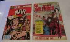FIGHTIN AIR FORCE #51 1965 & WORLD AT WAR #34  LOT OF 2 COMICS **FREE SHIPPING**