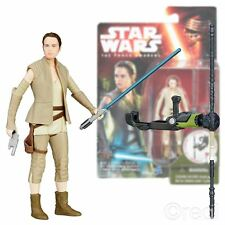 """Nuevo Star Wars The Force despierta 3.75"""" Rey Figura Oficial Traje de resistencia"""