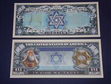 UNC.JUDAISM NOVELTY NOTE ONLY .25 SHIPPING FREE SHIP + FREE NOTES!