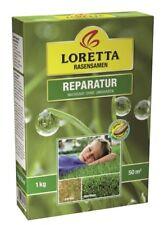 Loretta Reparatur Rasen 1 kg für ca.50 m²  Rasensamen, Grassamen