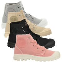 Palladium Womens Ankle Boots Pampa Hi Top Ladies Canvas Trainers Walking Shoes