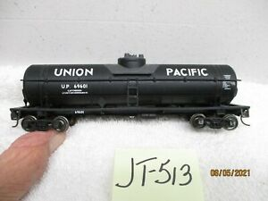 JT513 ATHEARN HO SINGLE DOME TANK CAR UNION PACIFIC UP 9601