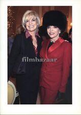 """LINDA GRAY - JOAN COLLINS - SALE !! - Original 12"""" x 8"""" American Embassy 2003"""