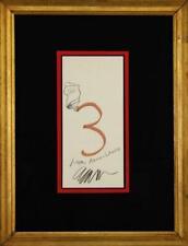 Signed original Armand Pierre Fernandez ( Arman ) painting