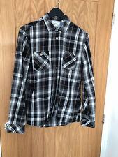 Mens Diesel Long Sleeved Check Shirt - UK Size Medium