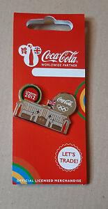 pin's Jeux Olympiques / Londres 2012 - partenariat Coca cola (Buckingham palace)