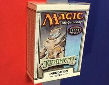 Inundation Judgment Theme Deck ENGLISH Sealed Brand New MAGIC ABUGames