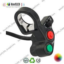 "Motorcycle Motorbike 7/8"" Handlebar Headlight Turn Signal Control Switch UK"