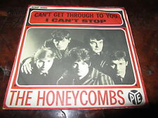 THE HONEYCOMBS CAN'T GET THROUGH TO YOU Rare 1966 Italy 45 BEAT