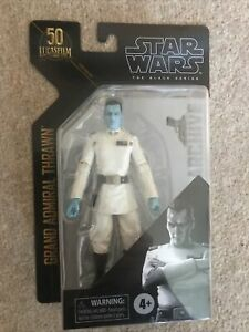 Black Series Archive Grand Admiral Thrawn Star Wars figure 6 Inches. New