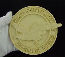 RARE Left-Flying Large Pratt & Whitney Aircraft Logo - Molded Resin - Paint-able