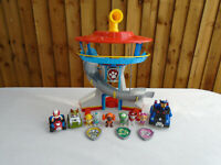 Paw Patrol Look Out Tower Playset Plus Vehicles & Pups Including Everest 🐾