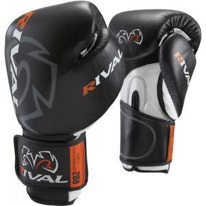 Rival Boxing Hook and Loop Super Bag Boxing Gloves - Black