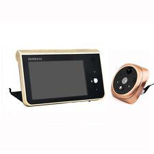 New 2.4GHz Wifi Smart Peephole 4.3''Video Doorbell 166° 720P HD security Camera