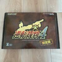 Gyakuten Saiban 4 Limited Edition Ace Attorney nintendo DS game Japanese import