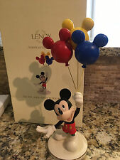 DISNEY LENOX Mickey With Balloons - Up Up And Away Figure - NIB