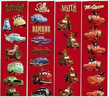 Disney CARS 4 Sheets Scrapbook Stickers McQueen Mater Mickey Ears!
