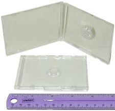 (5) CDBS48CLBC Business Card CD Jewel Boxes Cases Ultra Thin 4mm Replacements