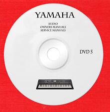 Yamaha Audio Repair Service owner manuals dvd 5 of 5 in pdf format