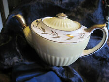 Gibsons Staffordshire Yellow/Gold Teapot made in England