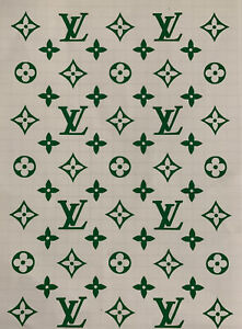 Louis Vuitton Novelty Vinyl Stickers! Available in any color!