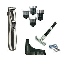 Andis Slimline Pro Li Trimmer With Safety Razor and Beard Shaping Tool Kit Dorco
