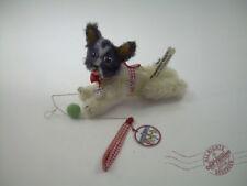 FRENCH BULLDOG dog puppy  Mohair OOAK harness leash ball toy boston terrier pug