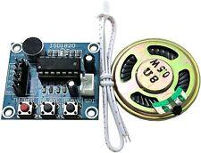 SD1820 Módulo de Grabación reproducción Micrófono Altavoz Audio con Arduino Raspberry Pi