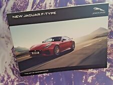 Jaguar F Type Sales Brochure - MY19 - Softback - 115 pgs