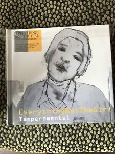 Everything but the Girl -Temperamental 2 CD edsel Casebound Book deluxe edition