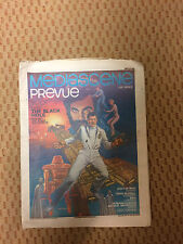 Mediascence Prevue: The Black Hole Issue # 39 Supergraphics  1979