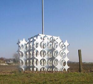 Geometric Chandelier Cynthia by Mario Marenco for Artemide Italy 1968 Suspension