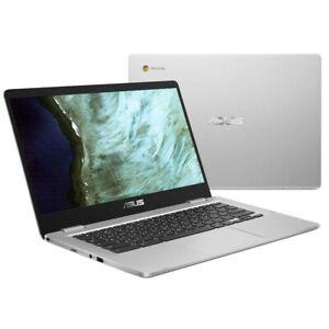 "ASUS Chromebook Silver C523NA-A20117 15.6"" FullHD Laptop Pentium N4200 8GB 64GB"